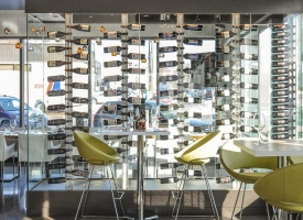 Walls of Wine overlooking the Private Dining Room !